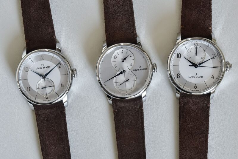 The Louis Erard Excellence Triptych Collection