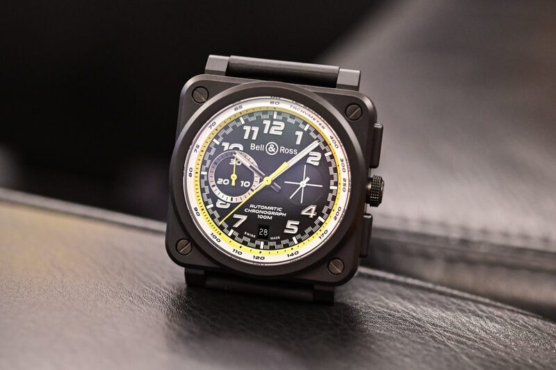 The New Bell & Ross R.S.20 Collection of Chronographs with Renault F1