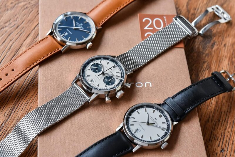 The New Hamilton Intra-Matic Automatic & Chronograph 40mm Collection (Live Pics & Price)