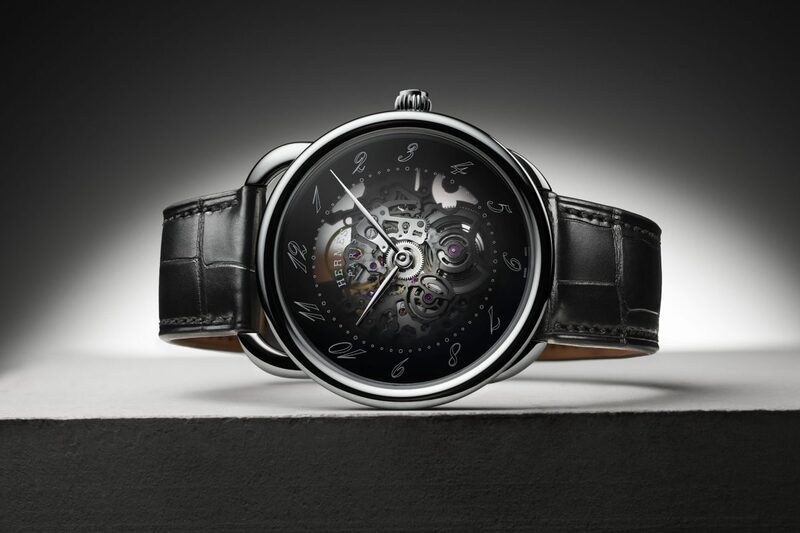 The New Hermès Arceau Squelette – Smoked Dial and Smaller Case