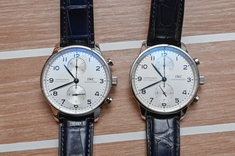 The New IWC Portugieser Chronograph 3716 with In-House Movement Vs. the Old 3714