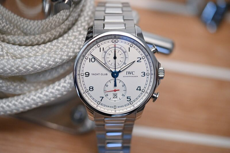 The New IWC Portugieser Yacht Club Chronograph (Live Pics & Pricing)