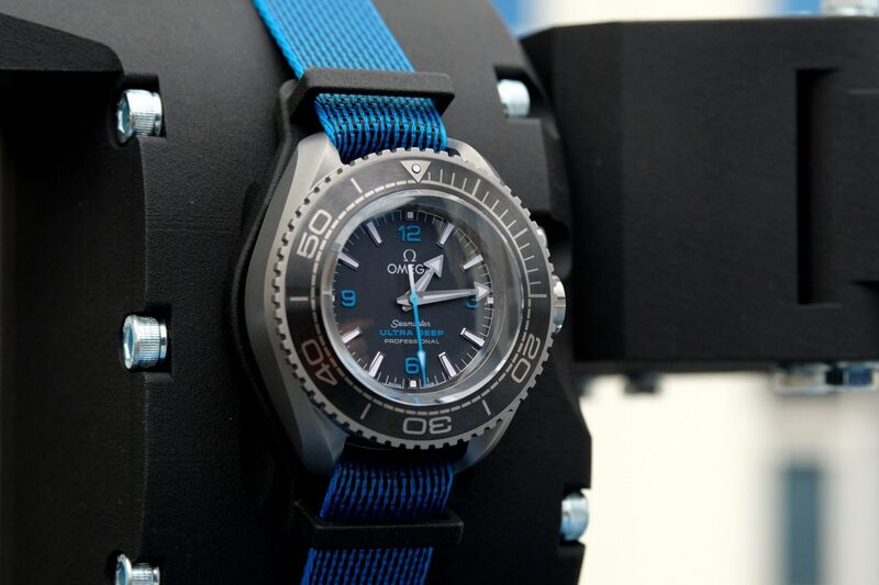 The Omega Seamaster Ultra Deep and The Five Deeps Expedition