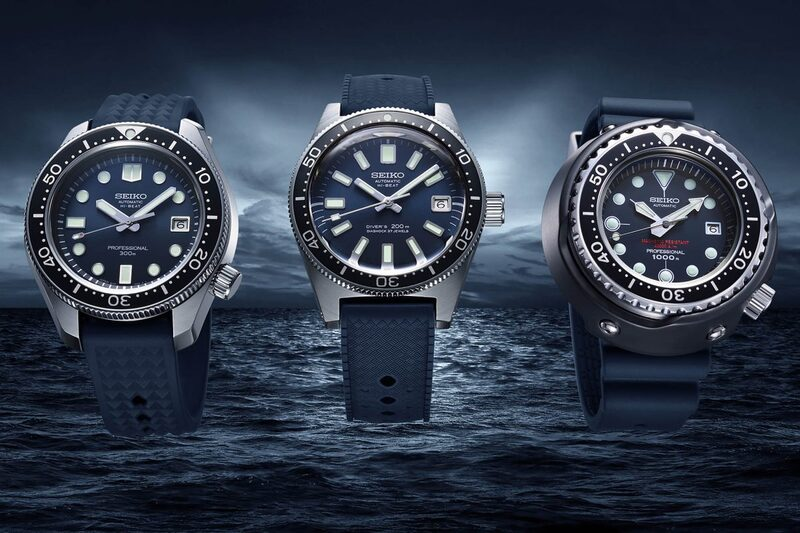 The Seiko Diver's 55th Anniversary Trilogy of Iconic Reissues