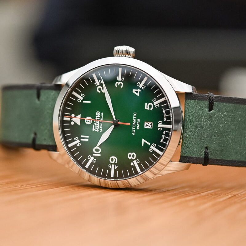 Tutima Flieger Automatic Green Dial – Accessible, Robust, Colourful