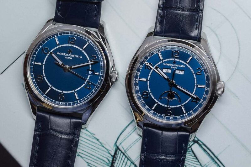 Vacheron Constantin FIFTYSIX Self-Winding and Complete Calendar with Blue Dials (Hands-On)
