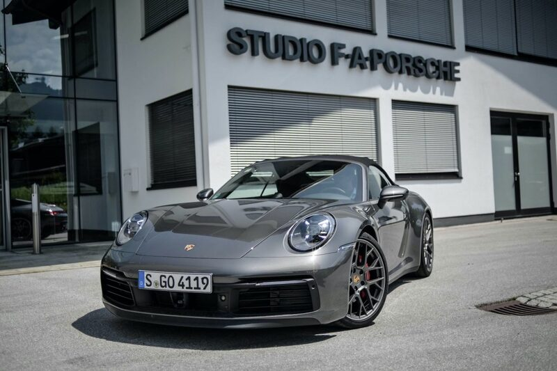 Video Review of the Porsche 992 – Driving the New 911 4S Convertible
