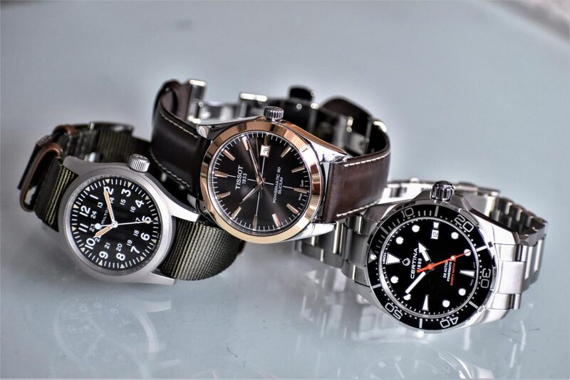 Watches from Certina, Hamilton and Tissot – Evidence of the Versatility of the Powermatic Movement