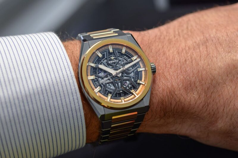 Zenith Defy Classic Skeleton Two-Tone, Titanium and Rose Gold