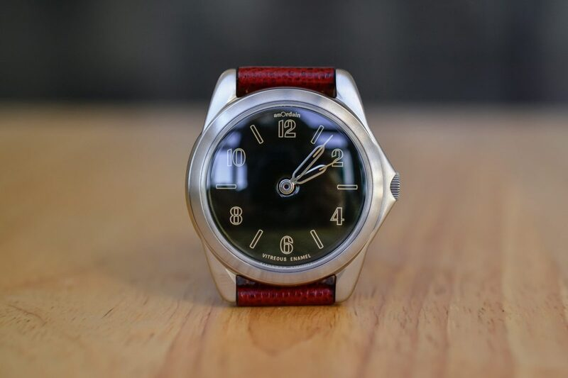 anOrdain Model 2 – Vitreous Enamel Dial and Sporty Attire, from Scotland